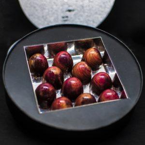 Sélection saint valentin - Boite de 11 mini bouchées pralinées