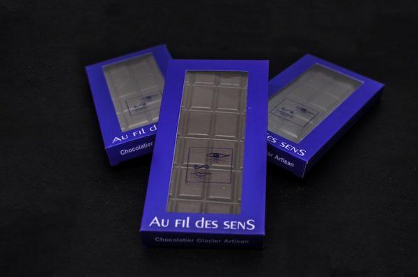 Tablette chocolat au Lait par Au Fil des Sens