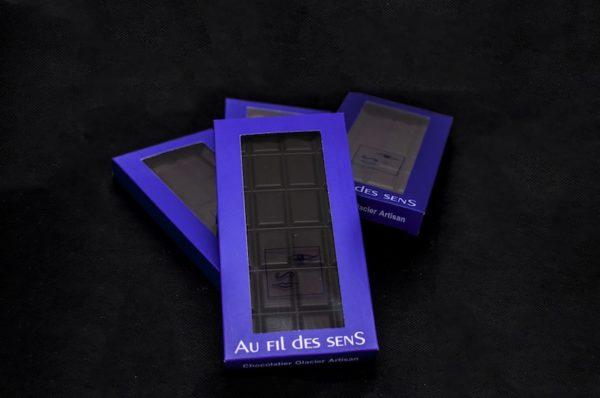 Tablette chocolat Noir par Au Fil des Sens